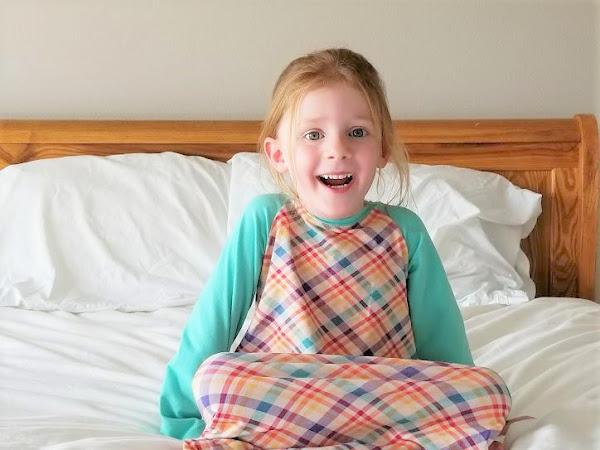 Girls Sleepyhead Nightgown Sewing Pattern