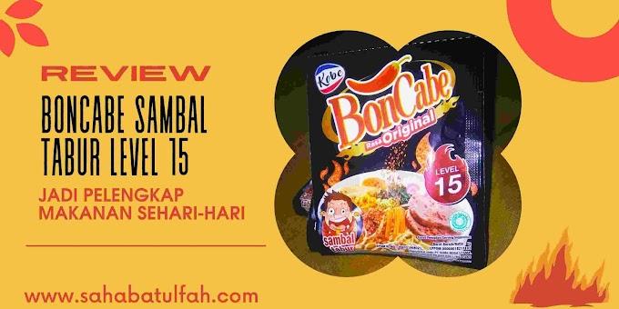 Review BonCabe Tabur Level 15 Jadi Pelengkap Makanan Sehari-hari