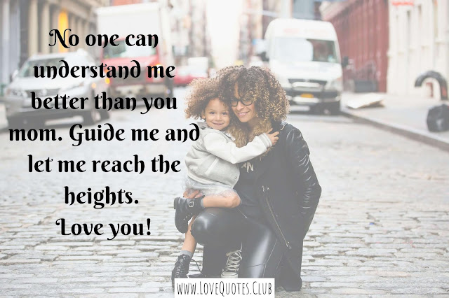 love quotes for my mother