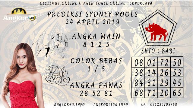 Prediksi Angka Jitu SYDNEY POOLS 24 APRIL 2019