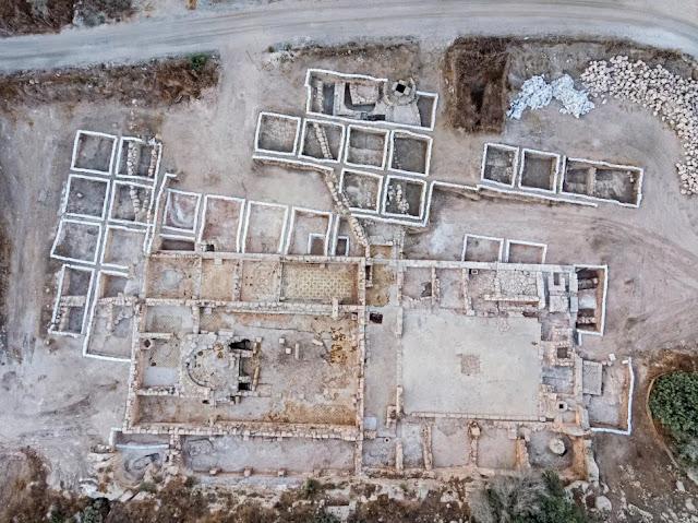 Αυτή η μεγάλη εκκλησία ηλικίας 1.500 ετών βρέθηκε κατά τη διάρκεια ανασκαφών στο Ισραήλ το 2017. Η εκκλησία ήταν αφιερωμένη σε έναν μάρτυρα του οποίου το όνομα είναι άγνωστο.
