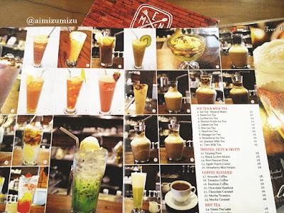 Papali steak house Padang Menu & Price