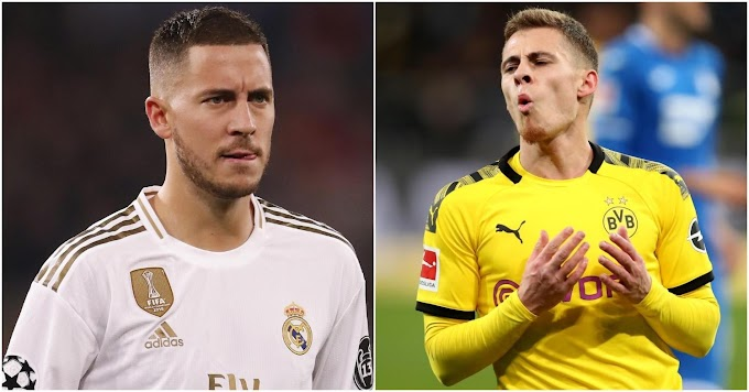 Eden Hazard rejected Bayern transfer to let Thorgan make his own name in Germany
