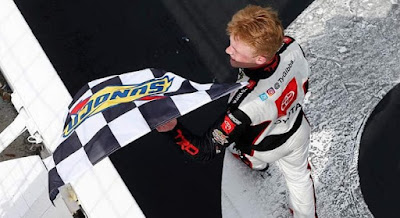 Ty Gibbs Converts Spin-And-Win, Lands 2nd Xfinity Victory