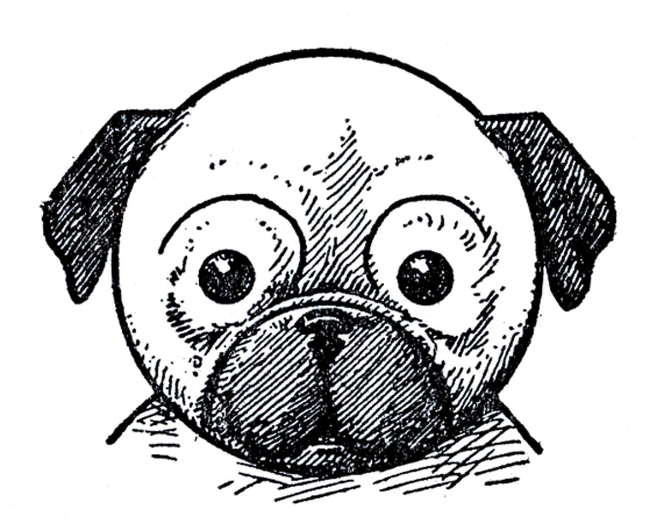 Pugs Pugs Pugs Ink Pugs Pugs Dogs Kids Printable How