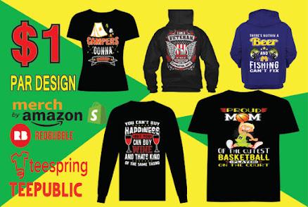 All category custom t-shirt design