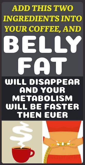 Put These Ingredients In The Coffee And Boost Your Metabolism And Eliminate Excess Belly Fat!