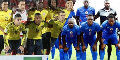 اهداف مباراة كولومبيا وهايتي اليوم الاحد 29 مايو 2016 وملخص كورة يوتيوب نتيجة لقاء رفاق فالكاو الدولي الودي