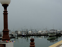 From many of the gazebos along the way...a view of the Marina