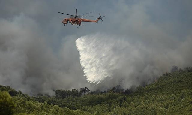 Ευχαριστίες από το Δήμο Λουτρακίου σε όσους συνέβαλαν για την κατάσβεση της μεγάλης πυρκαγιάς