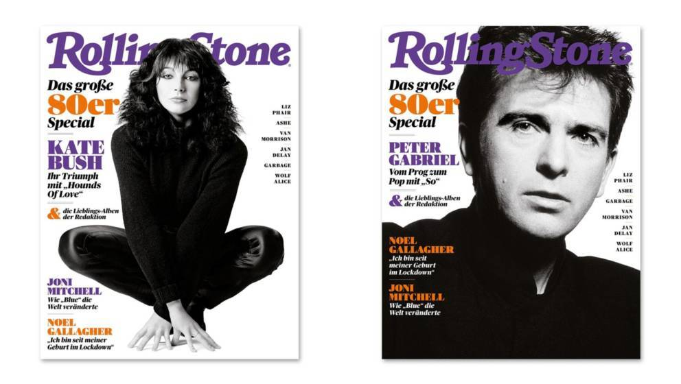 Kate and Peter Gabriel covers - German Rolling Stone