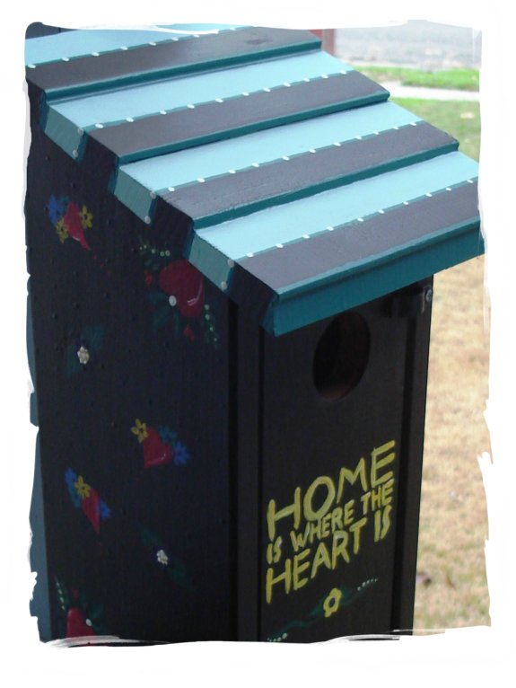 Birdhouses {Post I}  Finish Your Crafts