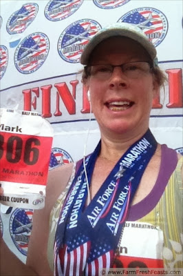 USAF Half Marathon Finisher