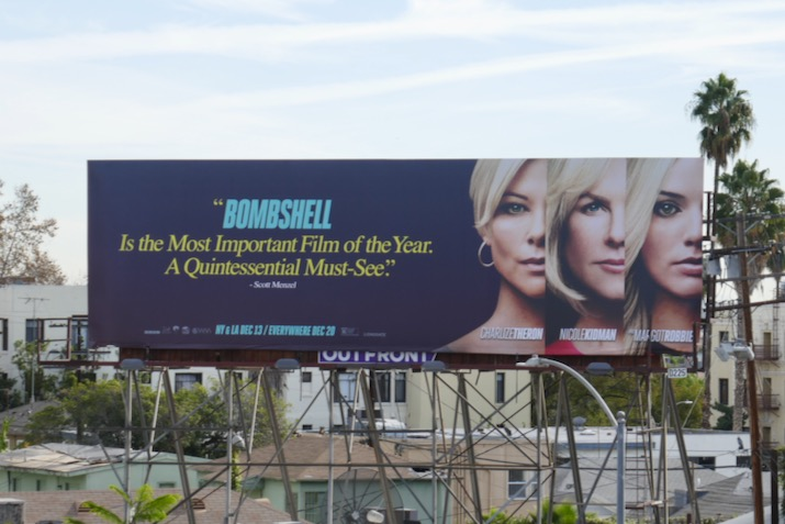 Bombshell movie billboard