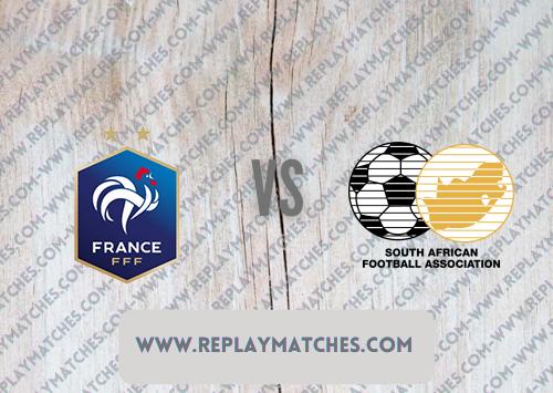 France U23 vs South Africa U23 -Highlights 25 July 2021