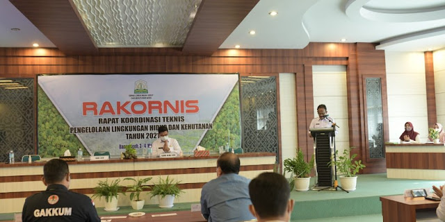 Sekda Aceh Minta DLHK Susun Strategi Pembangunan Lingkungan Hidup dan Hutan Lebih Efektif
