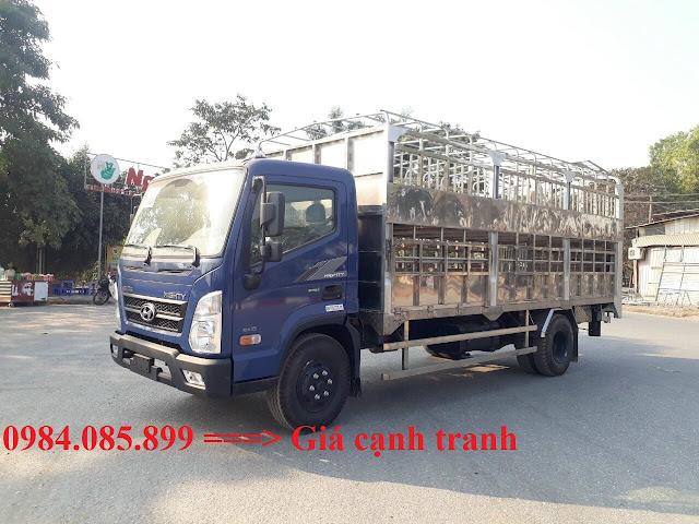 Hyundai EX8 thùng chở gia súc
