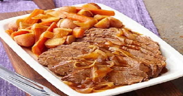 Crockpot Beef Brisket Meal Recipe