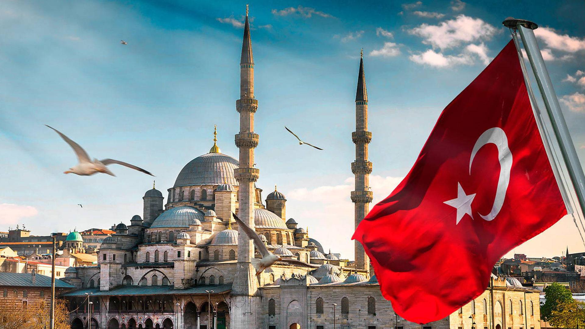 İstanbul Manzaralı Türk Bayrağı Resimleri | Türk Bayrakları