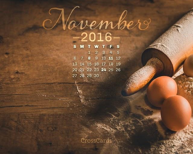 November 2016 Desktop Wallpapers