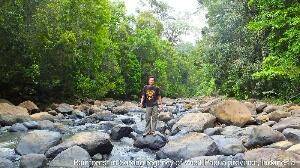 Charles Roring was hiking at a river in Sorong