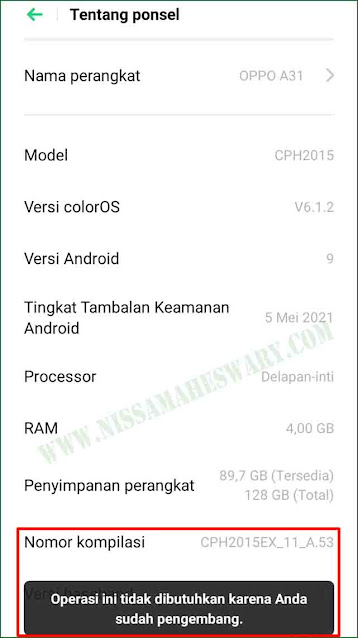 Cara Menampilkan Kursor Di Layar HP Android Atau Smartphone Tanpa Aplikasi