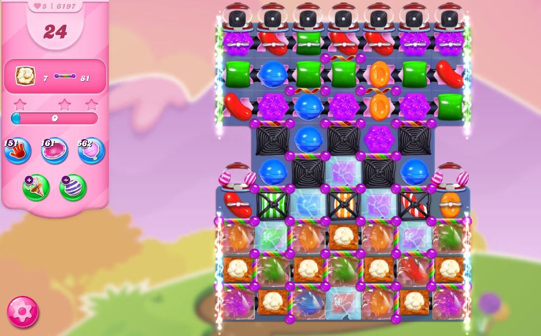 Candy Crush Saga level 6197