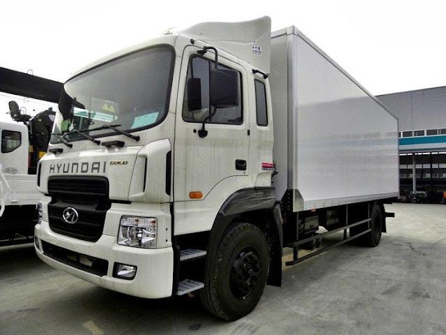 xe tải hyundai hd170 thùng kín