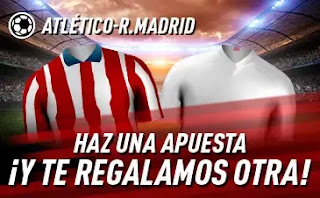 sportium promo Atletico vs Real Madrid 7 marzo 2021