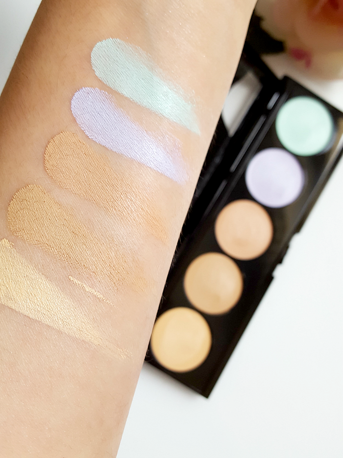 Swatches & Review: L´Oréal Paris - Infaillible Total Cover Concealer Palette - 13.95 Euro
