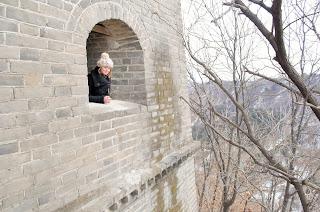 En haut d'une tour