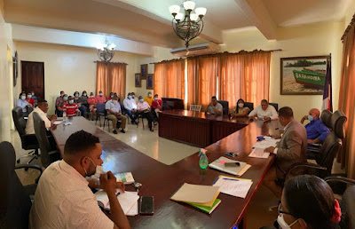 Ayuntamiento de Barahona realiza cabildo abierto  consulta del presupuesto participativo del 2021.