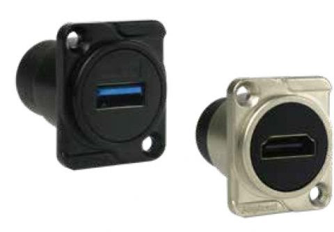 USB/HDMI, Amphenol-Chassis Mount Data Connectors