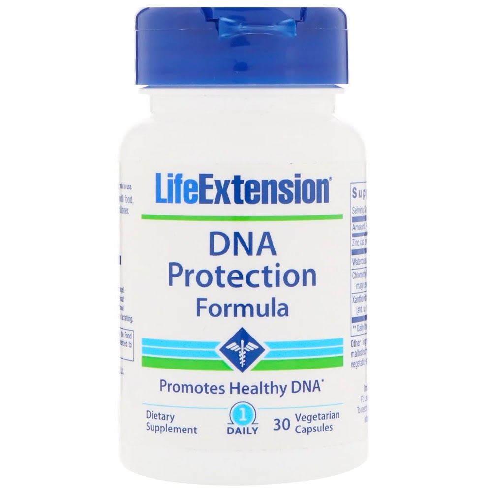 Life Extension, Формула защиты ДНК, 30 вегетарианских капсул