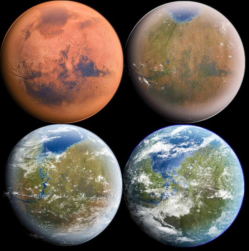Bagaimana Manusia Membina Penempatan di Planet Marikh