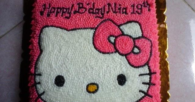 Gambar Kue Ultah Karakter Hello Kitty Berbagai Kue