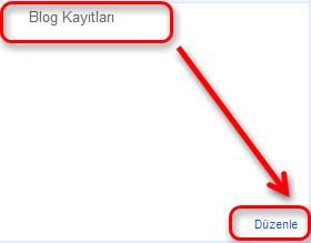 Blog Kayıt ayarlarında Yorum Hatalarının çözümü