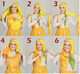 Inspirasi Tutorial Model Hijab Untuk Wajah Bulat