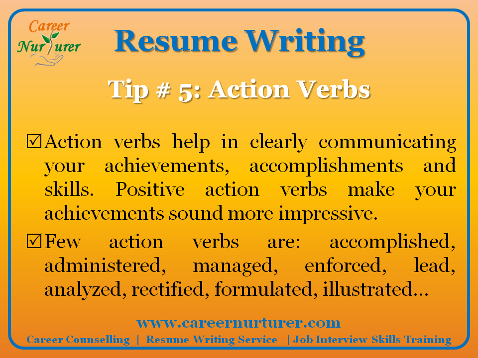 Professional resume writing services in mumbai