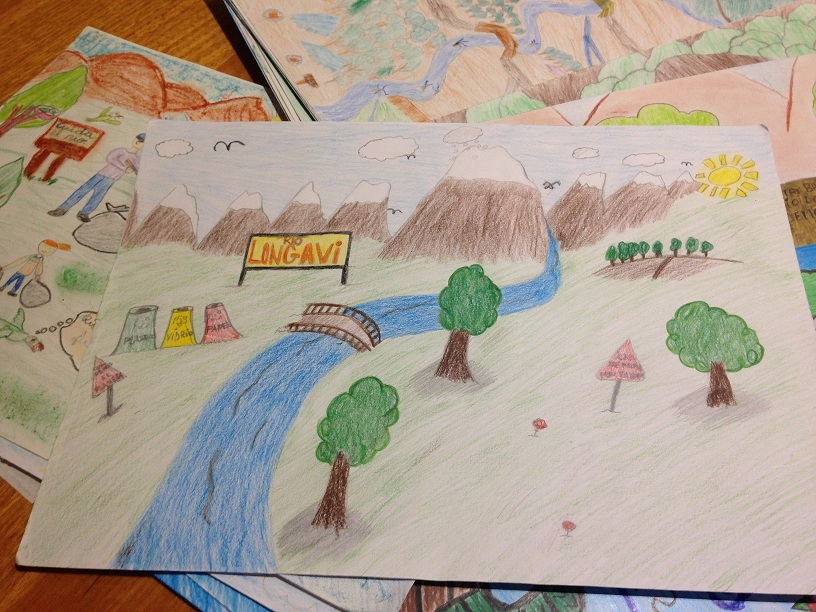 Más de 500 dibujos fueron presentados  en concurso de cuidado del agua