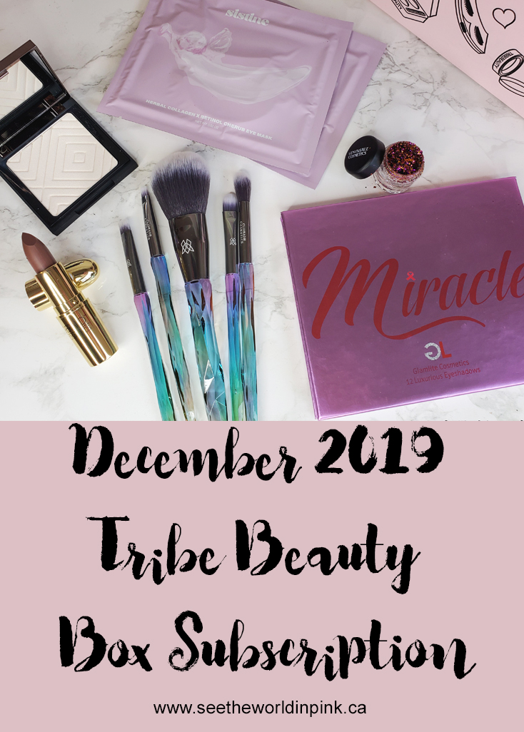 December 2019 Tribe Beauty Box x Angeschka - Unboxing and Review