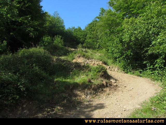 Ruta Lindes - Peña Rueda - Foix Grande: Revueltas del Carrilón