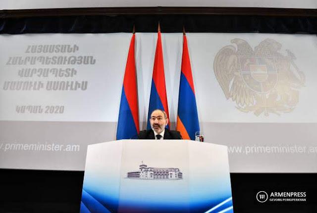Sistema semipresidencial es irresponsable para Pashinyan
