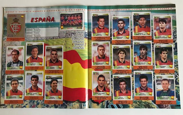 Figurine Spagna Euro 96