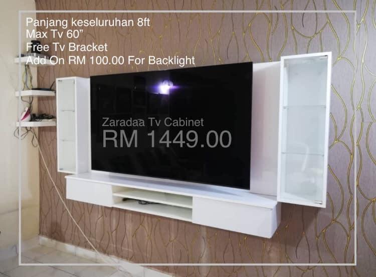 Home Deco Shah Alam Kabinet Tv Rm1449 Home Decor Malaysia Cabinet Tv Wall Mounting Kabinet Tv Gantung