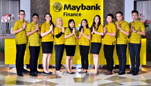 Lowongan Kerja Besar Besaran Maybank Finance Pendidikan Minimal SMA