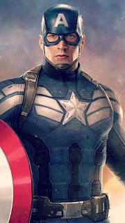 Wallpaper WA Kapten Amerika