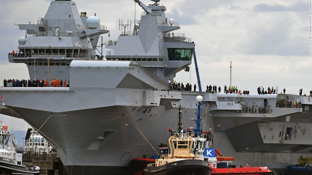 ΗΠΑ και Βρετανία στέλνουν στρατιωτικές δυνάμεις στη Μαύρη Θάλασσα