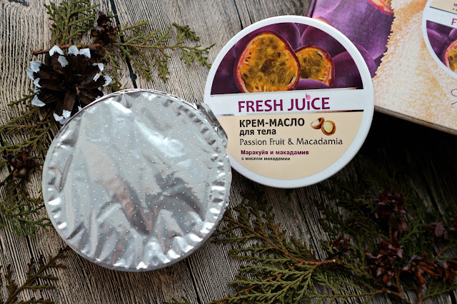 "Fresh Juice Крем-масло для тела ""Passion Fruit & Macadamia"""
