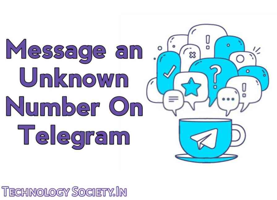 Message an Unknown Contact on Telegram